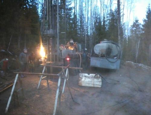 Производство работ на месторождении «Кравцовское»